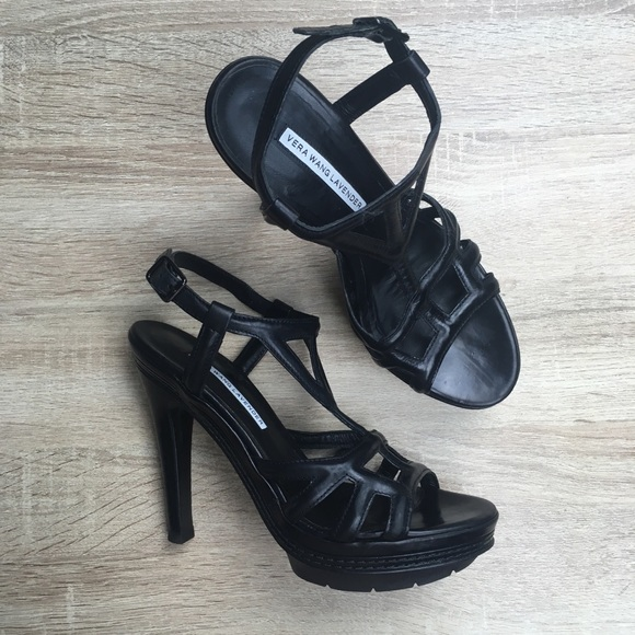 Vera Wang Lavender Label Cage Platform Sandals free shipping nicekicks outlet affordable best prices online newest sale online cheap low cost 9y7eUyz0u